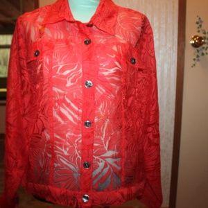 Western Lace Jacket. Beautiful, XL, never Worn